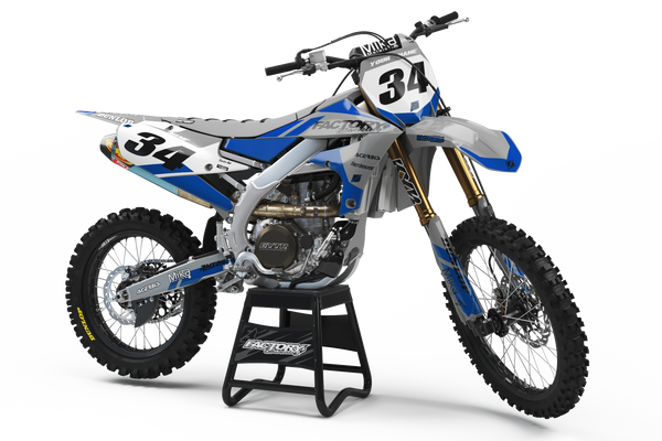 Slain Semi-Custom Factory Backing Yamaha Graphics