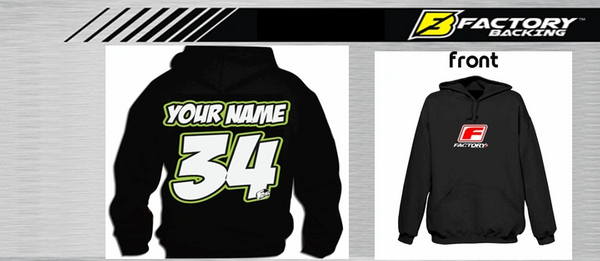 Pit Hoody Sweatshirt Style #1 Custom MX clothing