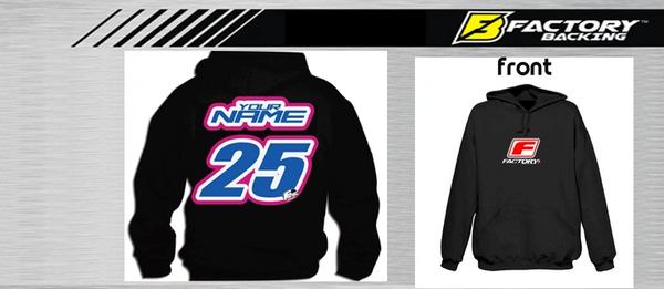 Pit Hoody Sweatshirt Style #3 Custom MX clothing