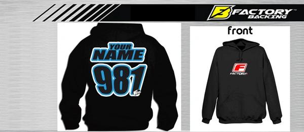Pit Hoody Sweatshirt Style #4 Custom MX clothing