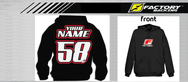 Pit Hoody Sweatshirt Style #5 Custom MX clothing