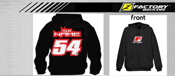Pit Hoody Sweatshirt Style #6 Custom MX clothing