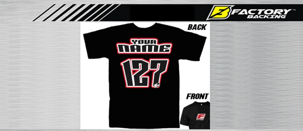 Pit T Shirt Style #2 Custom MX clothing