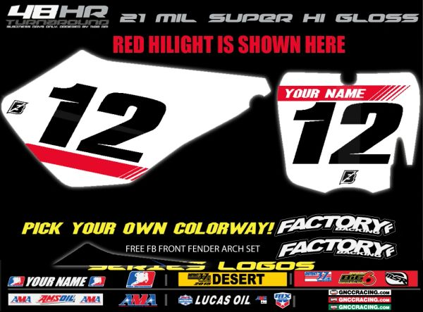 Cobra Factory Backing Pre Printed Backgrounds F2 SERIES