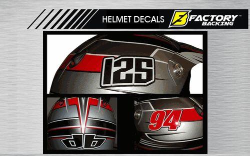 Helmet Sticker Set Style #1