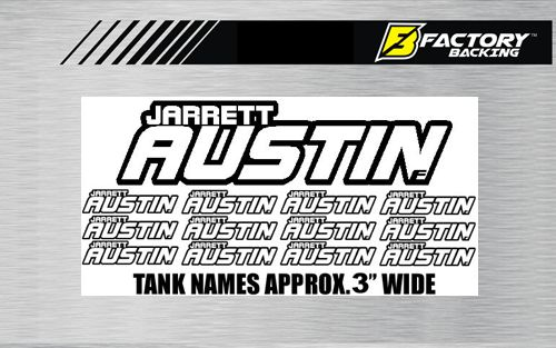 Tank Names Style #1 (12 decals)