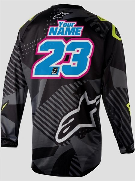 Jersey Style #11 Custom printed on your Jersey FREE SHIPPING!