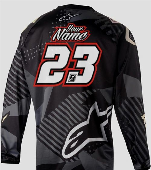 Jersey Style #12 Custom printed on your Jersey FREE SHIPPING!