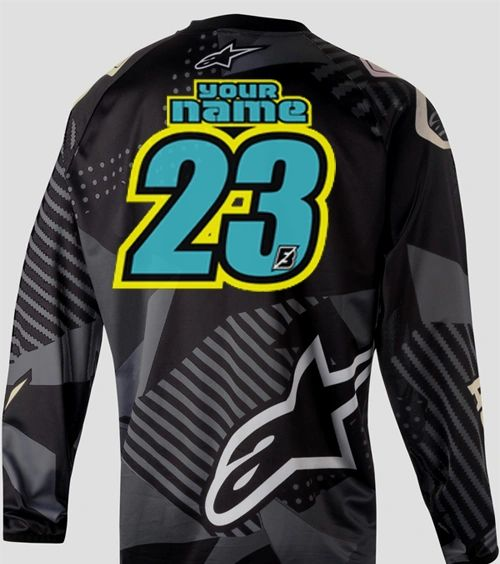 Jersey Style #13 Custom printed on your Jersey FREE SHIPPING!