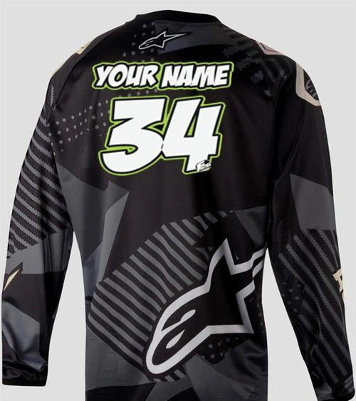 Jersey Style #1 Custom printed on your Jersey FREE SHIPPING!