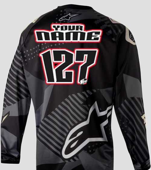 Jersey Style #2 Custom printed on your Jersey FREE SHIPPING!
