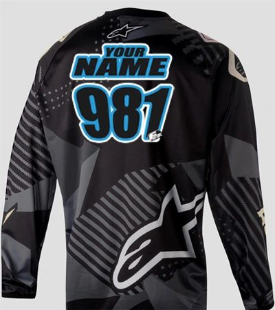 Jersey Style #4 Custom printed on your Jersey FREE SHIPPING!