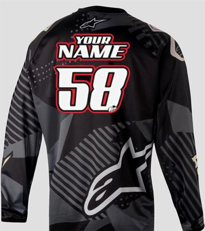 Jersey Style #5 Custom printed on your Jersey FREE SHIPPING!