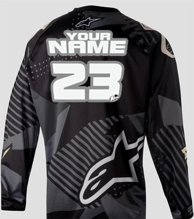 Jersey Style #10 Custom printed on your Jersey FREE SHIPPING!