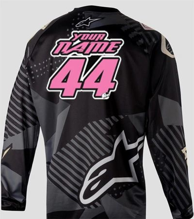 Jersey Style #7 Custom printed on your Jersey FREE SHIPPING!