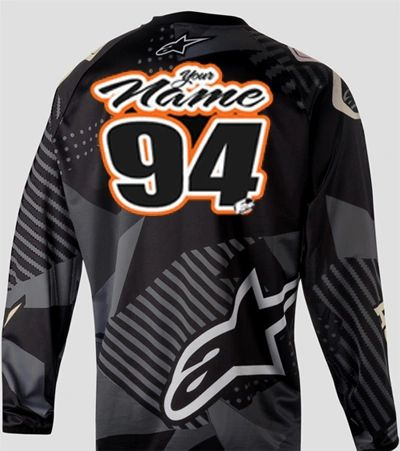 Jersey Style #8 Custom printed on your Jersey FREE SHIPPING!