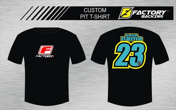 Pit T Shirt Style #13 Custom MX clothing