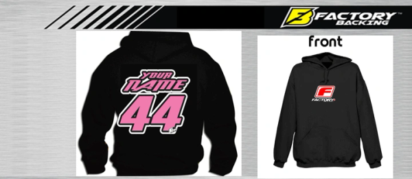Pit Hoody Sweatshirt Style #7 Custom MX clothing
