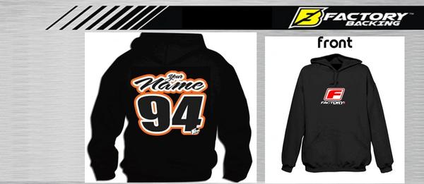 Pit Hoody Sweatshirt Style #8 Custom MX clothing