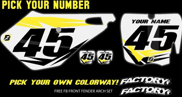 Cobra Pre Printed Number plate Backgrounds FAST GUY Includes 3 logos near airbox