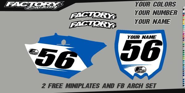 Factory Backing Pre Printed Backgrounds Basic Series