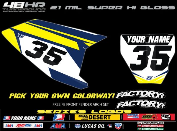 Husqvarna Factory Backing Pre Printed Backgrounds Edgy SERIES