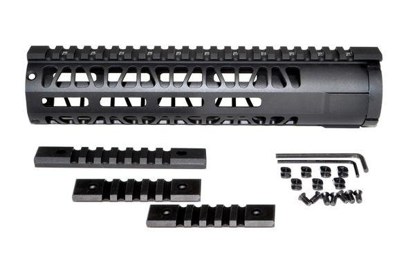 M-LOK Style Free Float Aluminum Handguard for AR  223, Mid Length 10