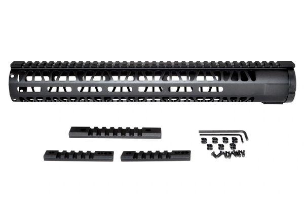 M-LOK Style Free Float Aluminum Handguard for AR  223, Rifle Length 15