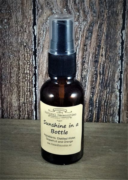 """Sunshine in a Bottle"" Room Spray"