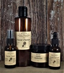 All Natural Skincare 4 Piece Set