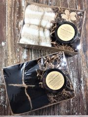 """Soothing Foot Butter & Slipper Socks"" Gift Set"