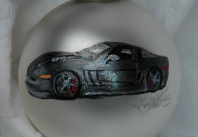 Custom Race car Christmas ornament