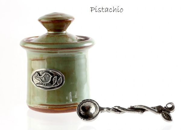 Petite Salt Pot - Bird