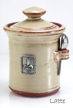 Salt Pot - Fleur de Lys