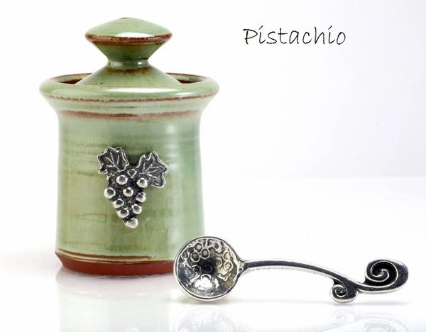 Petite Salt Pot - Vineyard