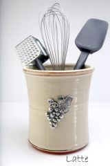 Utensil Crock - Vineyard