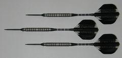Predator 18 gram Steel Tip Darts - 90% Tungsten, Aggressive Grip - Style 2