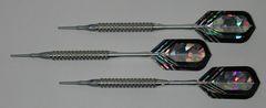 P4 Silverline 16 gram Tungsten Soft Tip Darts - Knurled Grip - HO6-SIL-16