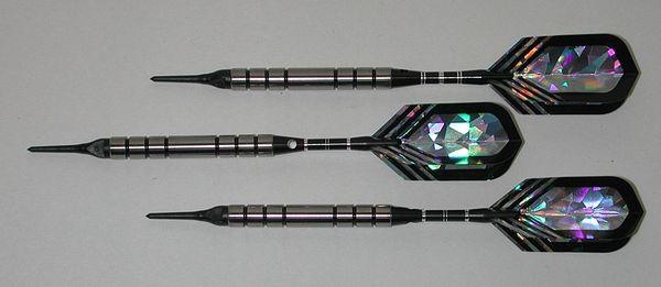 PREDATOR 20 gram Soft Tip Darts - Smooth Grip 80% Tungsten - Convertible - Steel/Soft Tip Darts BH2-20