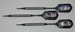 PREDATOR 20 gram Soft Tip Darts - Knurled 80% Tungsten - Convertible - Steel/Soft Tip Darts BH5-20