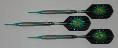 VIPER 18 gram Soft Tip Darts - Contoured Grip 90% Tungsten - Convertible - Steel/Soft Tip Darts NV1-18