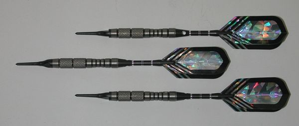 VIPER 18 gram Soft Tip Darts - Contoured Grip 90% Tungsten - Convertible - Steel/Soft Tip Darts NV5-18