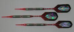 VIPER 18 gram Soft Tip Darts - Contoured Grip 90% Tungsten - Convertible - Steel/Soft Tip Darts NV7-18
