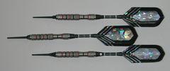 VIPER 16 gram Soft Tip Darts - Contoured Grip 90% Tungsten - Convertible - Steel/Soft Tip Darts NV11-16
