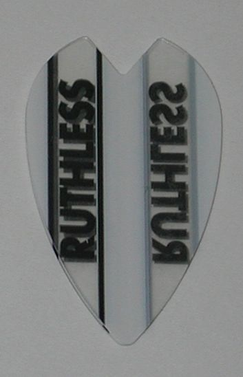 3 Sets (9 flights) Ruthless Vortex Mini Size WHITE Flights - 1921