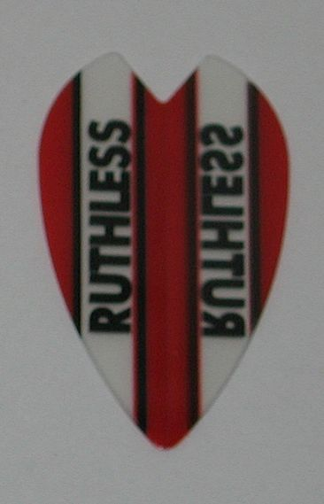 3 Sets (9 flights) Ruthless Vortex Mini Size RED Flights - 1922