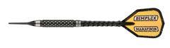 Harrows 18 gram 80% DIMPLEX Black Tungsten Soft Tip Darts - Knurled Grip - DIMP-18-BLK