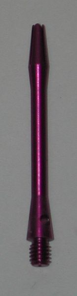 3 Sets (9 shafts) Aluminum 2BA, PURPLE SHORT Dart Shafts