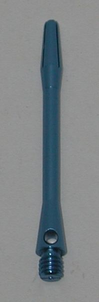 3 Sets (9 shafts) Aluminum 2BA, BLUE SHORT Dart Shafts