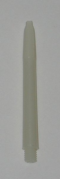 3 Sets (9 shafts) Nylon 2BA, WHITE SHORT Dart Shafts